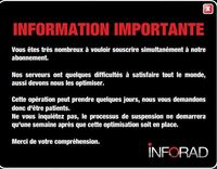 Page accueil Inforad