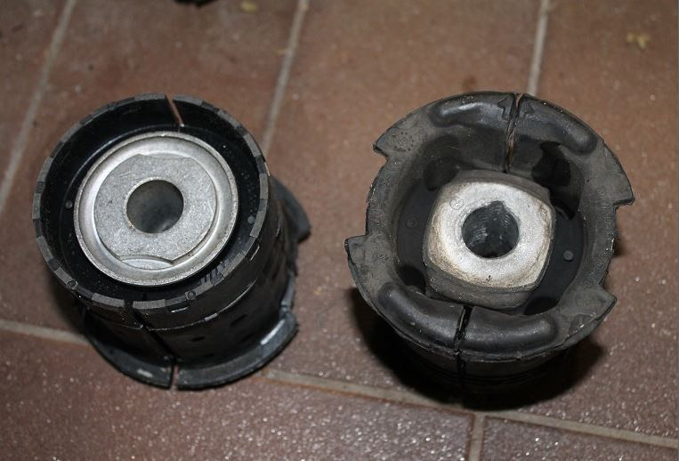compare_M3 OEM vs Standard_Rear subframe Front mounting bushes