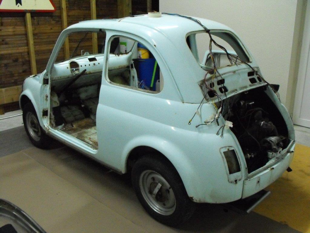 Restauration D Une Fiat 500 De 1967 Restaurations