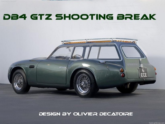 aston_martin db4 gtz shooting break design by olivier decatoire