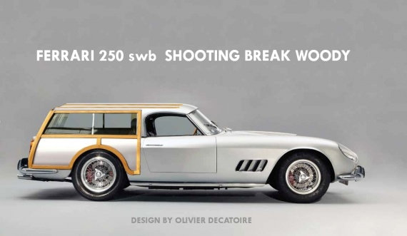 Ferrari 250 GT California break de chasse woody