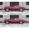 jaguar type e  by decatoire