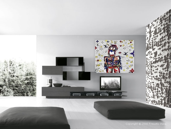 black-white-futurisrisics-modern-living-room-with-large-window,Armin van Buuren, Ushuaia, Ibiza 2014