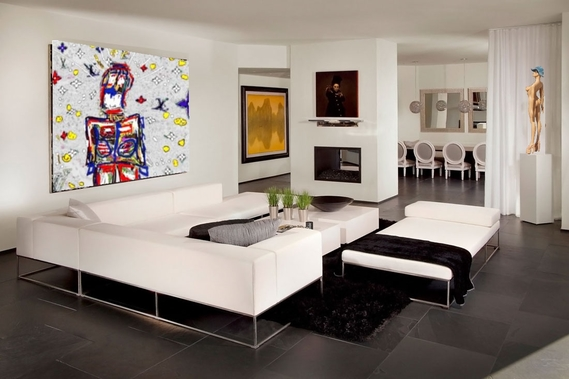 Luxury-Penthouse-with-Contemporary-Interior-04-Living-Room,Armin van Buuren, Ushuaia, Ibiza 2014 ,gr