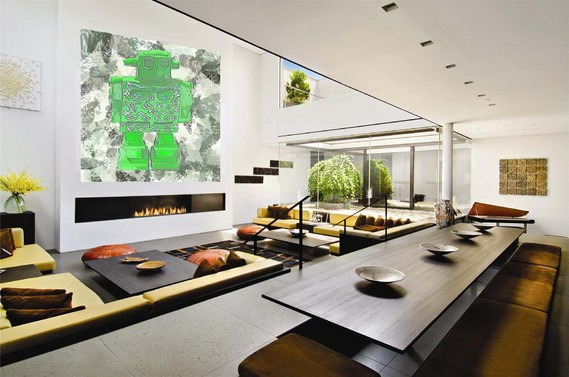 Beautiful-Penthouse-with-Three-Landscaped-Terraces-in-Soho-by-Architeam-penthouse design,room design
