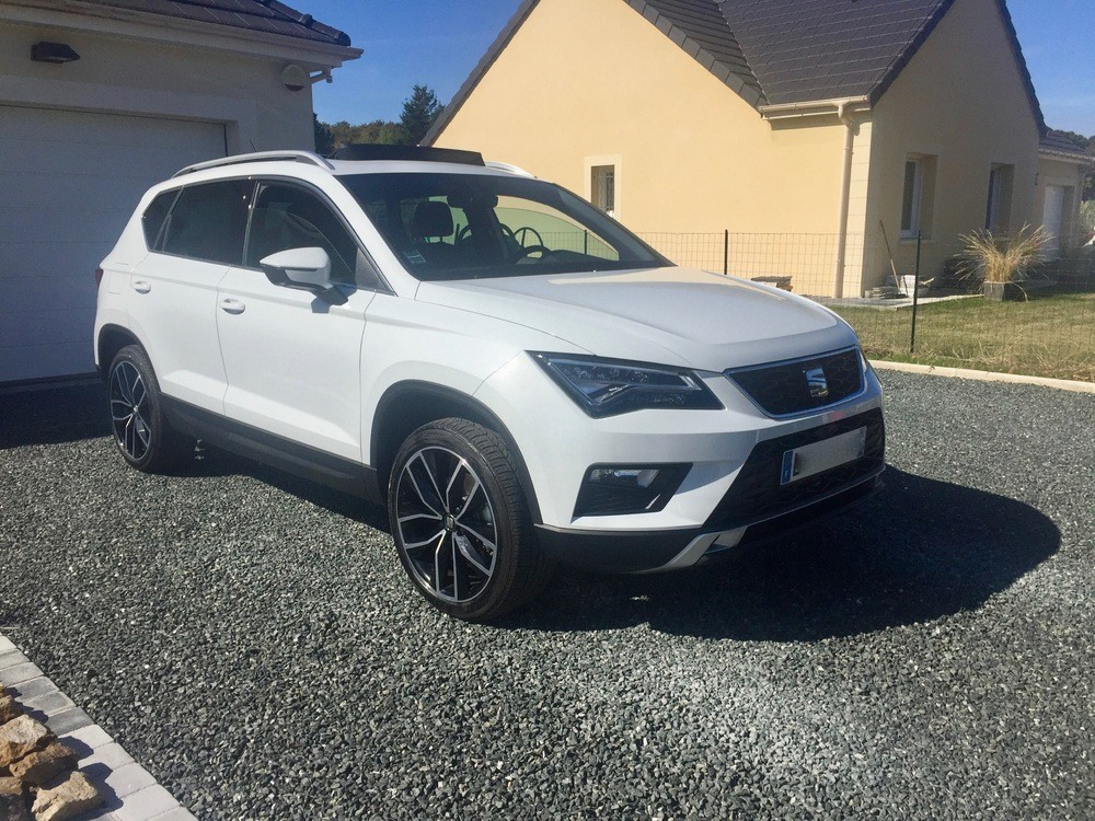ateca xcellence 2 0 tdi 190 dsg blanc n vada pr sentation ateca seat forum marques. Black Bedroom Furniture Sets. Home Design Ideas