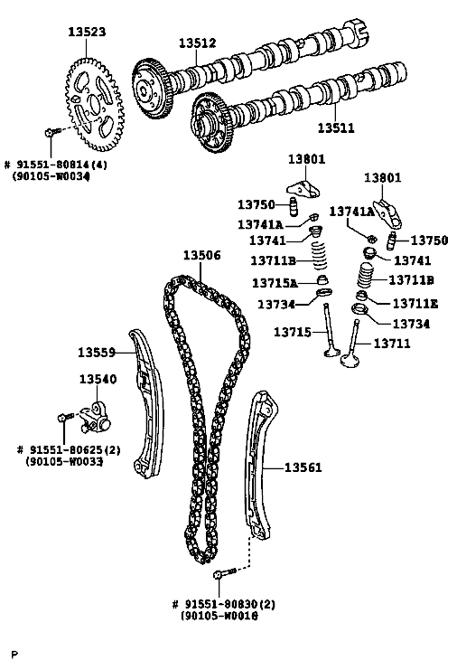 how to check timing chain position is ok toyota rav 4 v