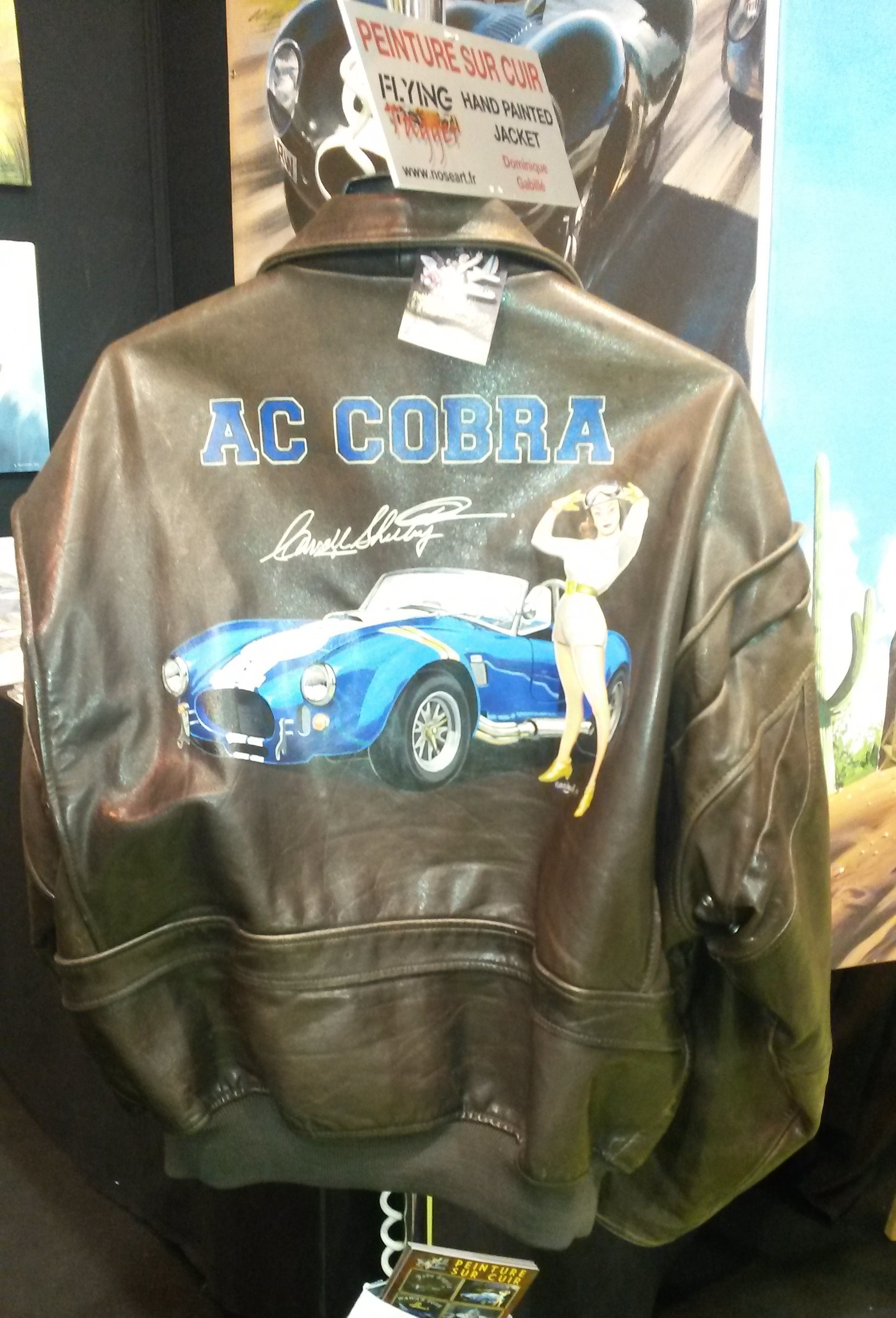 Cobra33 à Rétromobile 2016