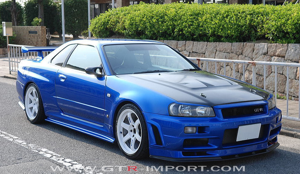 gtr r34 bleu max nissan skyline gtr r34 pitxu64310 photos club. Black Bedroom Furniture Sets. Home Design Ideas