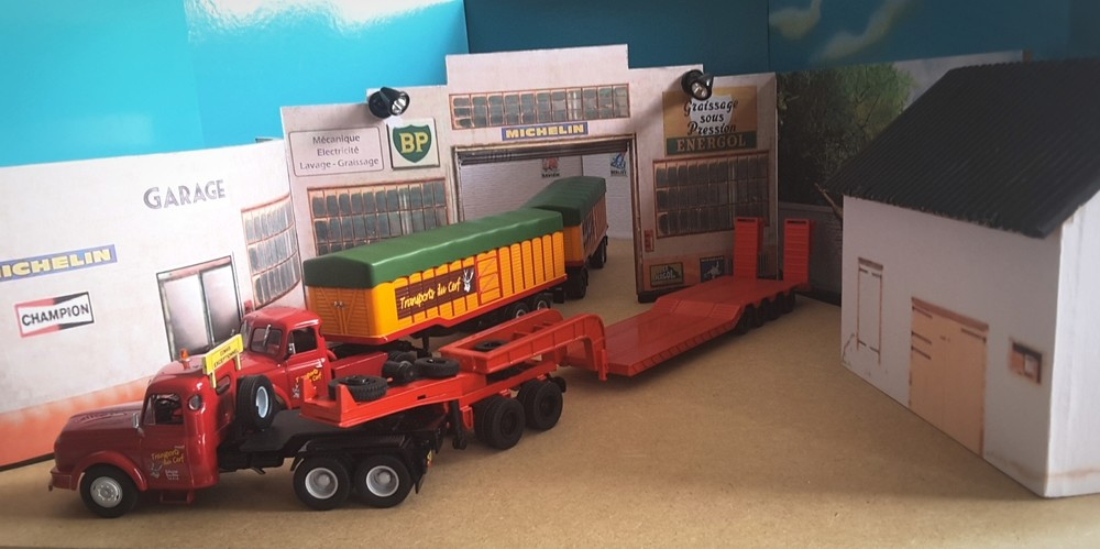 Willeme RD 615 6x4 Dolly porte char ( WilBerUnic 2018 ).