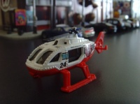RESCUE HELICOPTER MATCHBOX 1