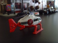 RESCUE HELICOPTER MATCHBOX 2