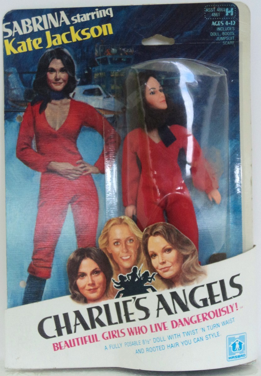 hasbro charlies angels doll sabrina - kate jackson
