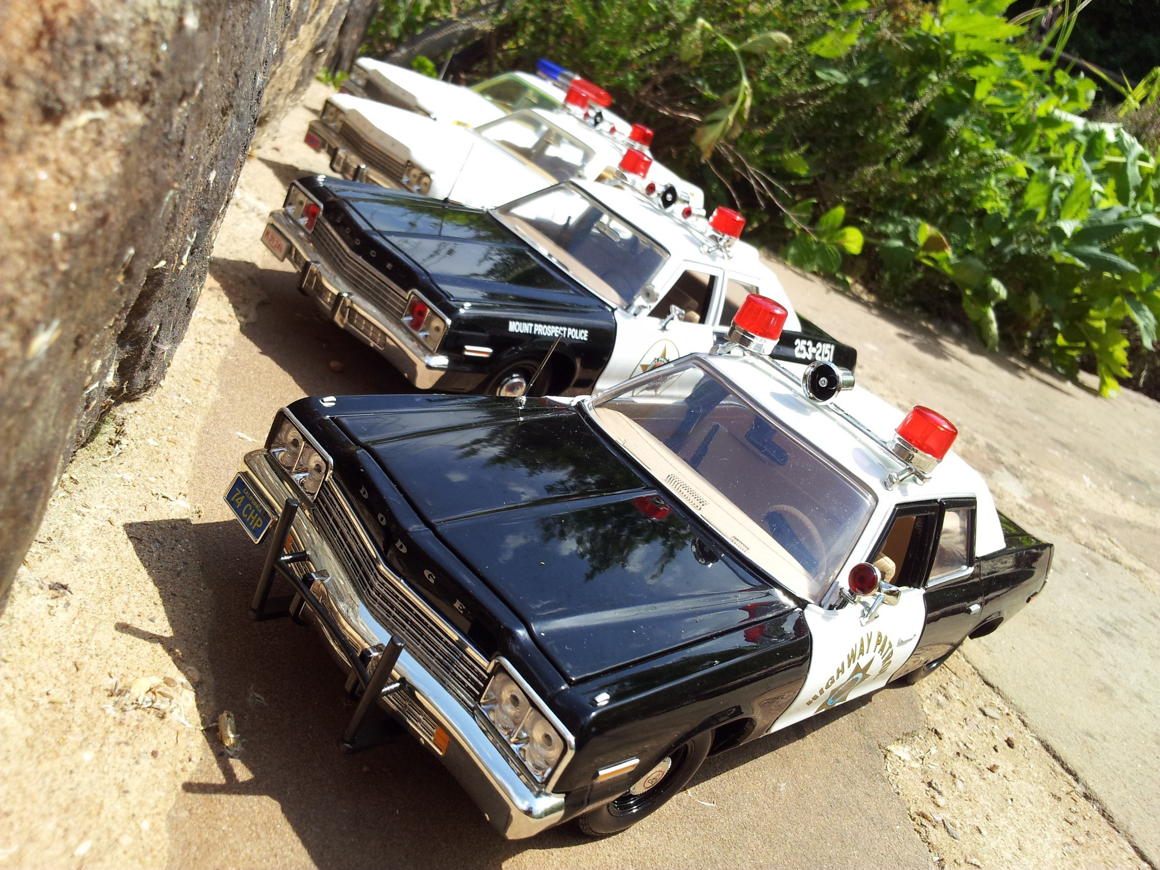 Dodge Monaco California Highway Patrol 1974
