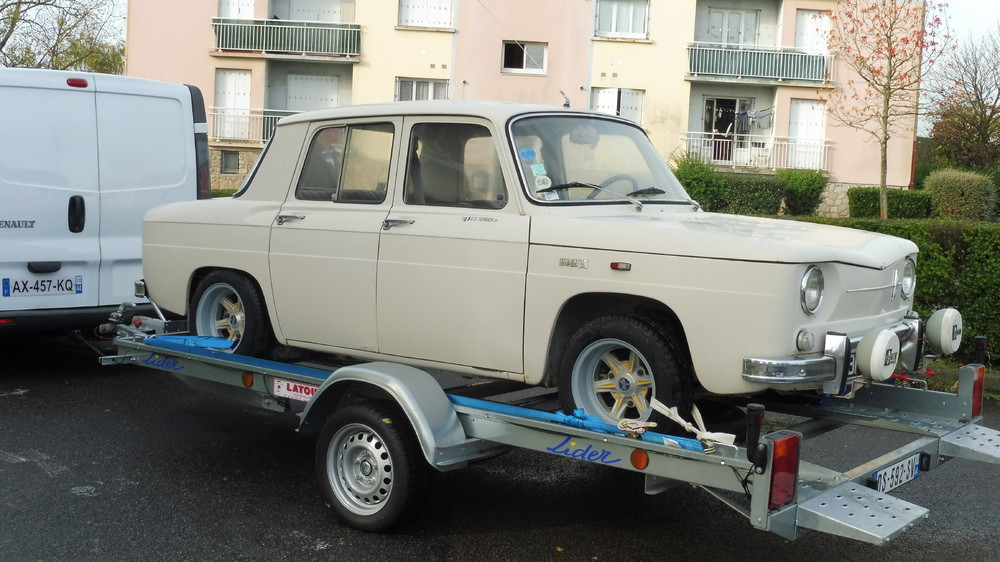 remise en route renault 8 major restaurations. Black Bedroom Furniture Sets. Home Design Ideas