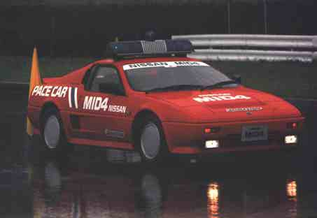 Nissan MID 4 Pace Car
