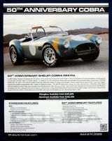 AC Cobra 289 Shelby 50th Anniversary