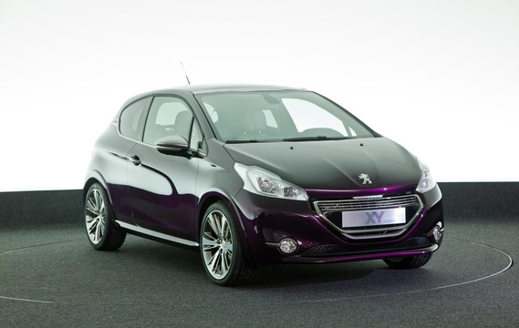 Peugeot 208 Xy Concept 2012 Peugeoterie Whealer Photos Club