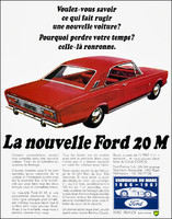 Ford 20M 1968