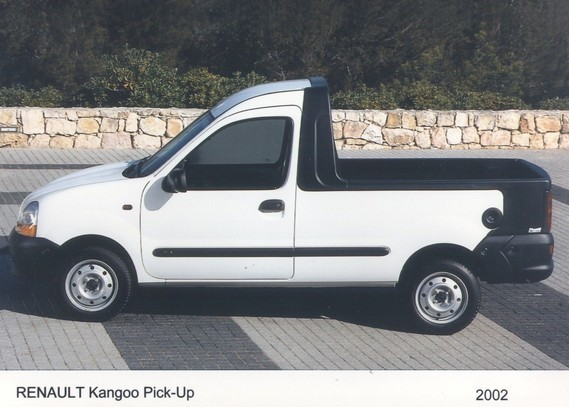 renault kangoo pick up durisotti 2002 renaultics whealer photos club. Black Bedroom Furniture Sets. Home Design Ideas