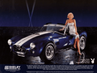 AC Cobra CSX4000 Shelby Heather Kozar Playboy 1999