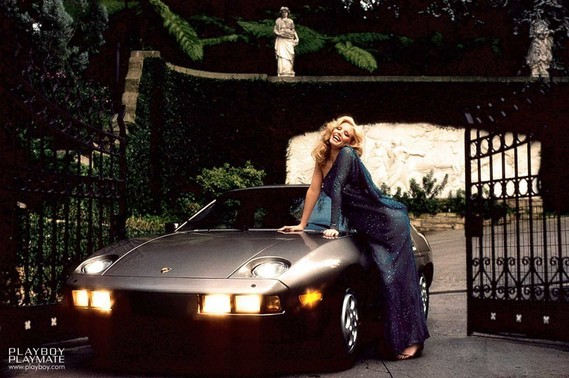 Porsche 928 Shannon Lee Tweed Playboy 1982