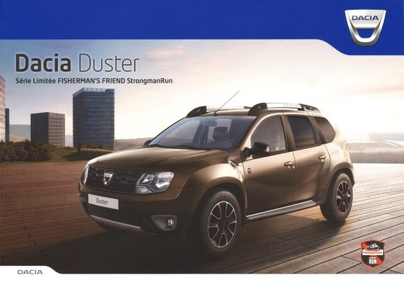 Dacia Duster Fisherman's Friend 2016