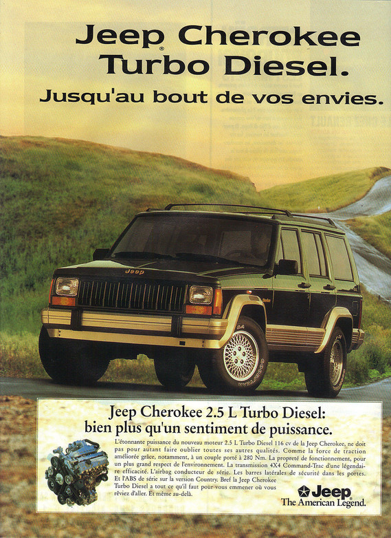 Jeep Cherokee Country 1995