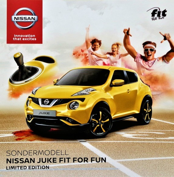 Nissan Juke Fit For Fun 2017