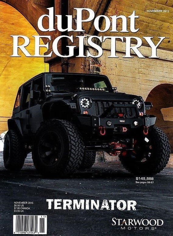 Jeep Wrangler Unlimited Terminator 2015