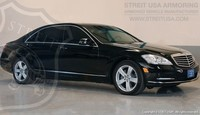 Mercedes-Benz S550 Armored Streit