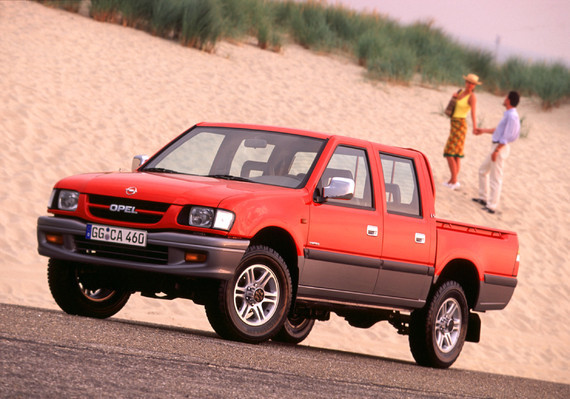 Opel Campo LS Limited 2001