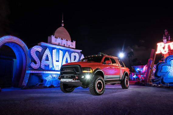 RAM Macho Power Wagon 2016