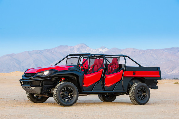 Honda Rugged Open Air Vehicle Concept 2018