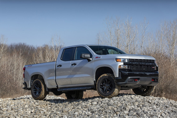 Chevrolet Silverado Custom Z71 Trail Boss 2019