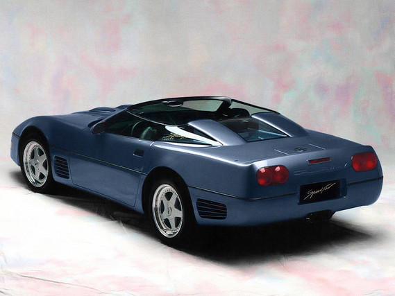 Chevrolet Corvette Speedster Twin Turbo Callaway 1991