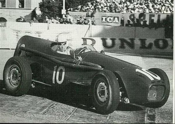 1957_gp monaco_Stuart Lewis-Evans, Connaught Type B