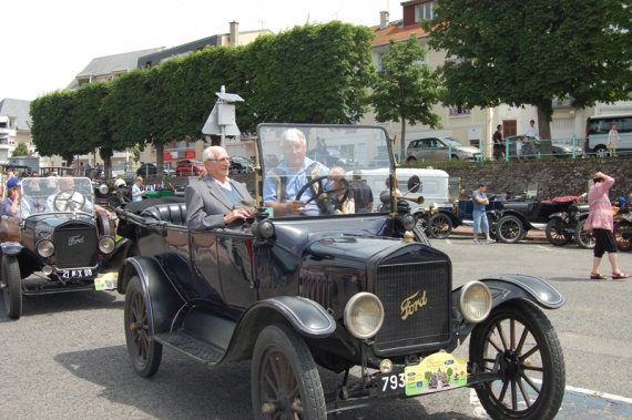 Papy en ford T