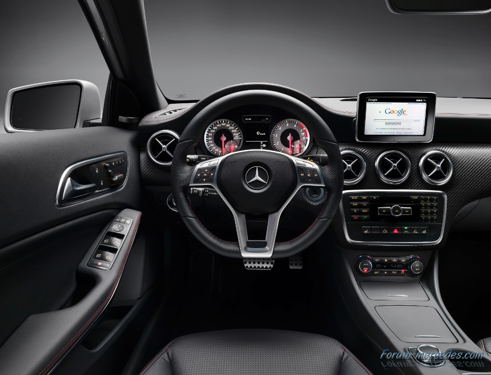 Bmw s rie une ou mercedes classe a design for Interieur mercedes classe a