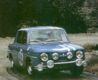 rally tour de corse 1964 r8 gordini