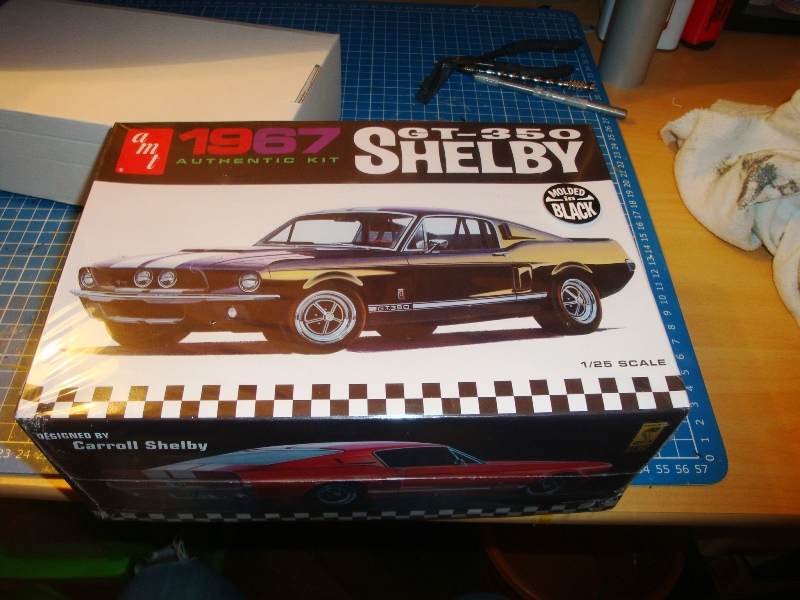 Ford Mustang GT500 Shelby 1967 Rouge  1/18  Greenlight  12928