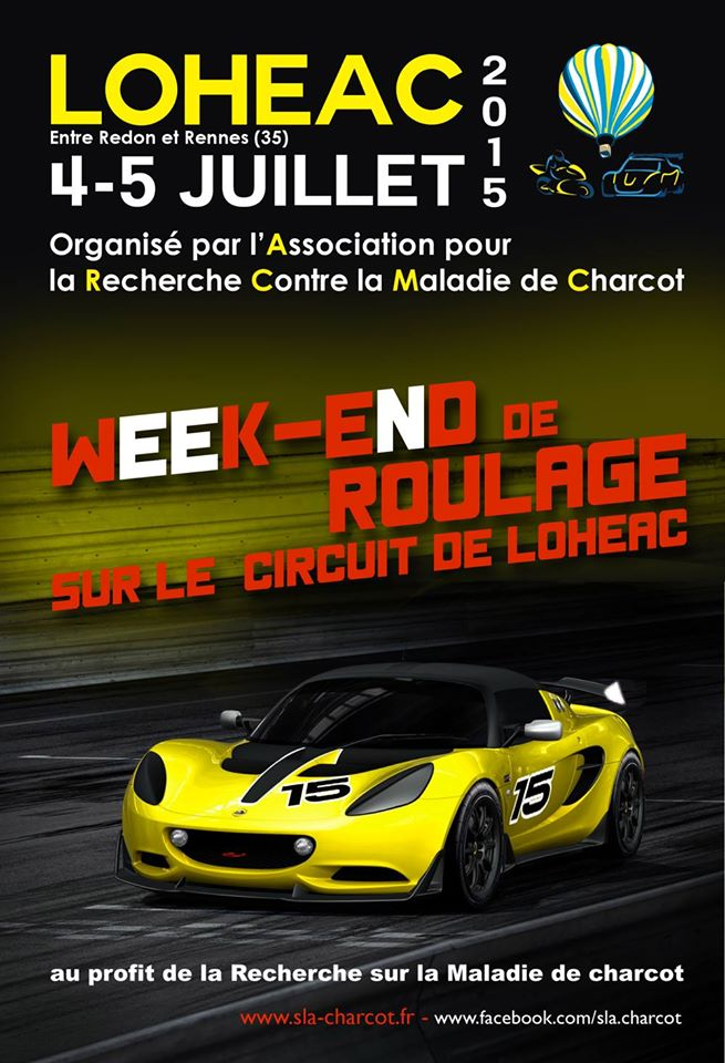 week end de roulage sur le circuit de loh ac 4 5 juillet 2015 bretagne ev nement et. Black Bedroom Furniture Sets. Home Design Ideas