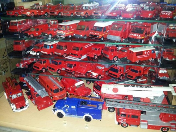 Ma collection pompiers