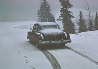 '50s in the snow