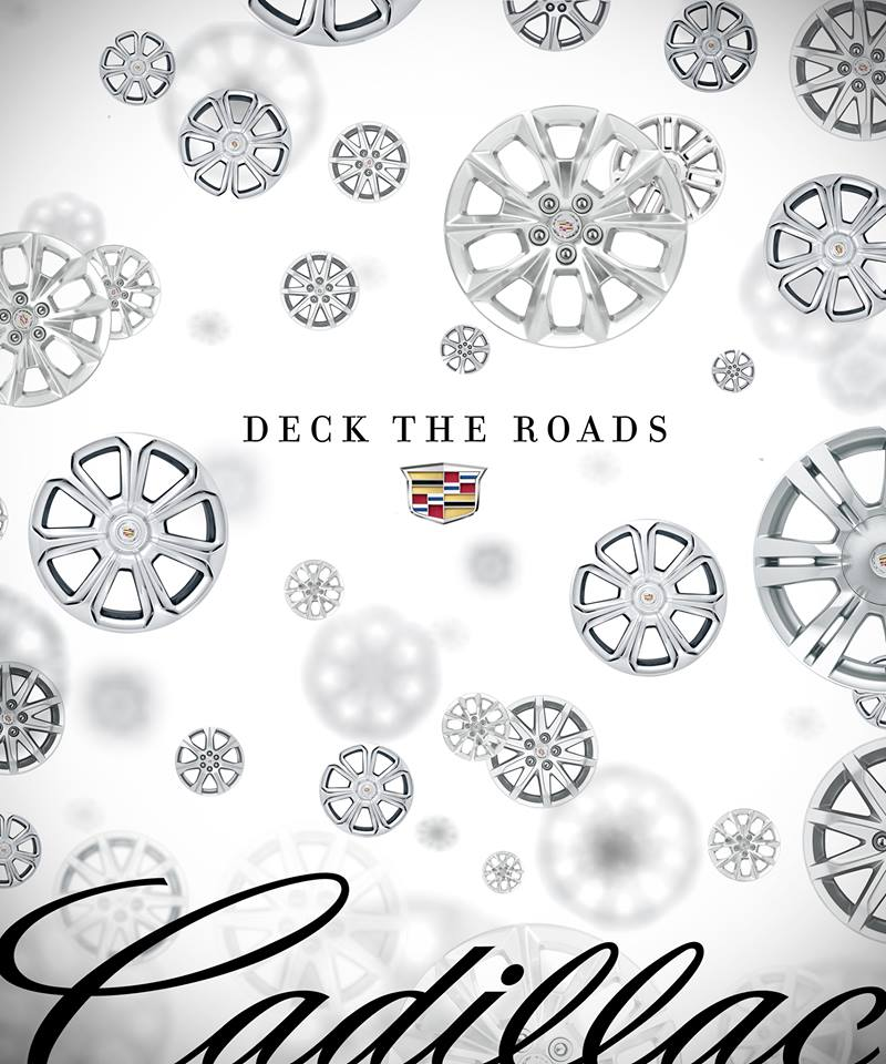 Deck the road Cadillac