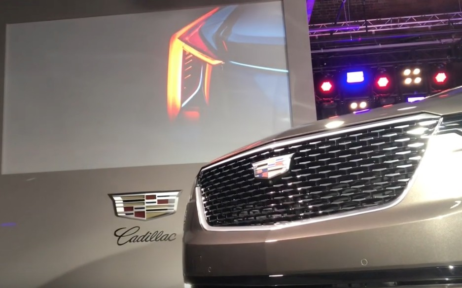 Cadillac EV coupe taillight