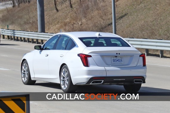 2020-Cadillac-CT5-Luxury-Exterior-On-Road-April-2019-008