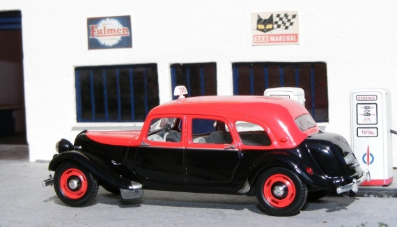Citroën Traction 11 F Taxi G7 1955 UH