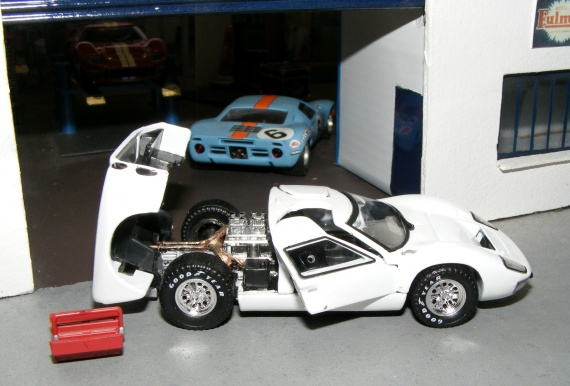 Ford GT40 MkII 1966 UH