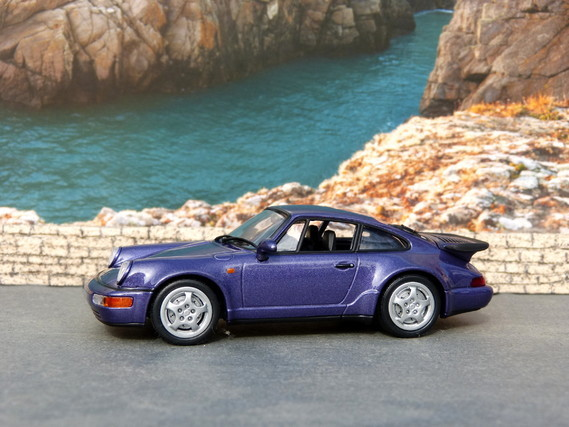 Porsche 964 Turbo 1991 Minichamps